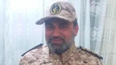 تصویر فرمانده بسیج دارخوین شادگان با ضرب گلوله کشته شد