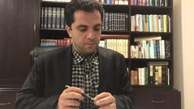 تصویر علی مجتهدزاده، وکیل دادگستری بازداشت شد