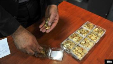 تصویر قیمت سکه طلا در ایران از ۹ میلیون تومان گذشت