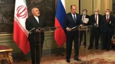 تصویر سفر ظریف به مسکو؛ روسیه وعده داد در کنار ایران بایستد