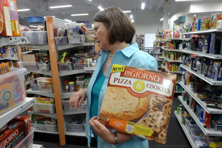 Pizza & Cookies, DiGiorno, product innovations