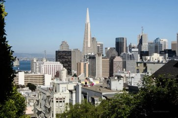 Nice rooftop view of downtown San Francisco