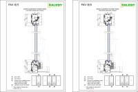 Wooden Sliding Door Section Detail - Sliding Door Designs