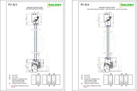 Aluminium Sliding Door Section Details - Sliding Door Designs