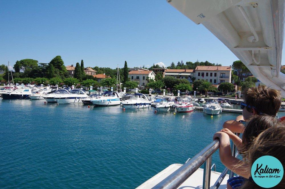 Port en Croatie