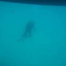 Plongeur en Croatie