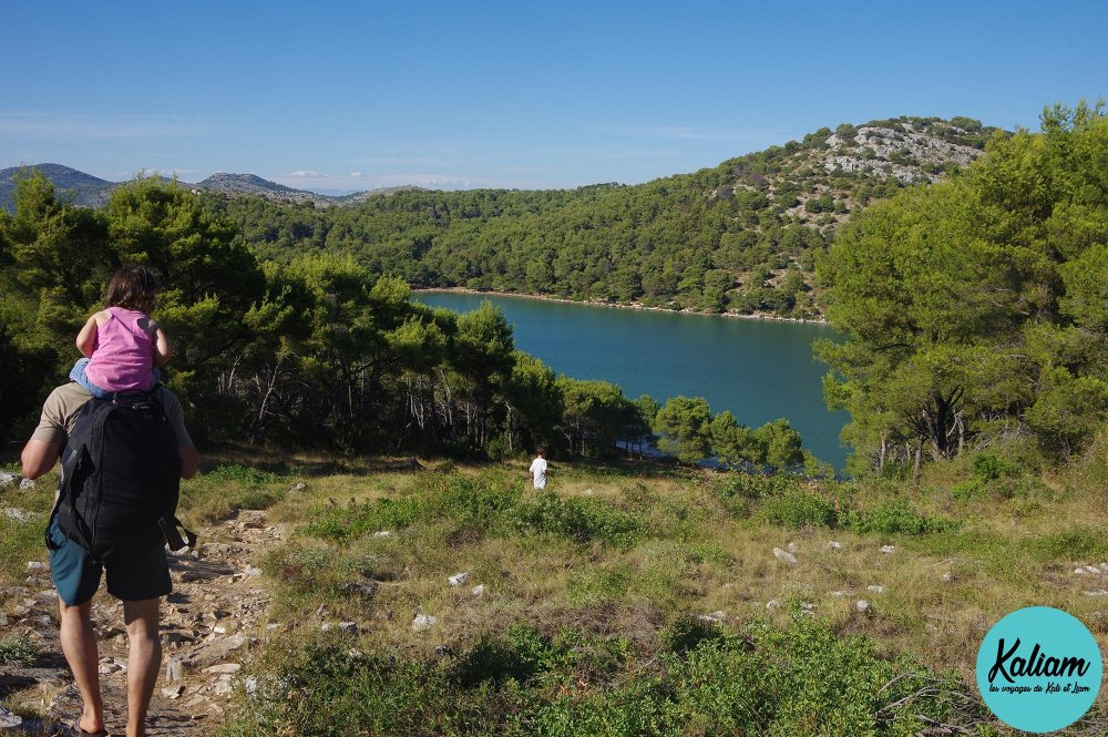 Promenade pour voir les falaises