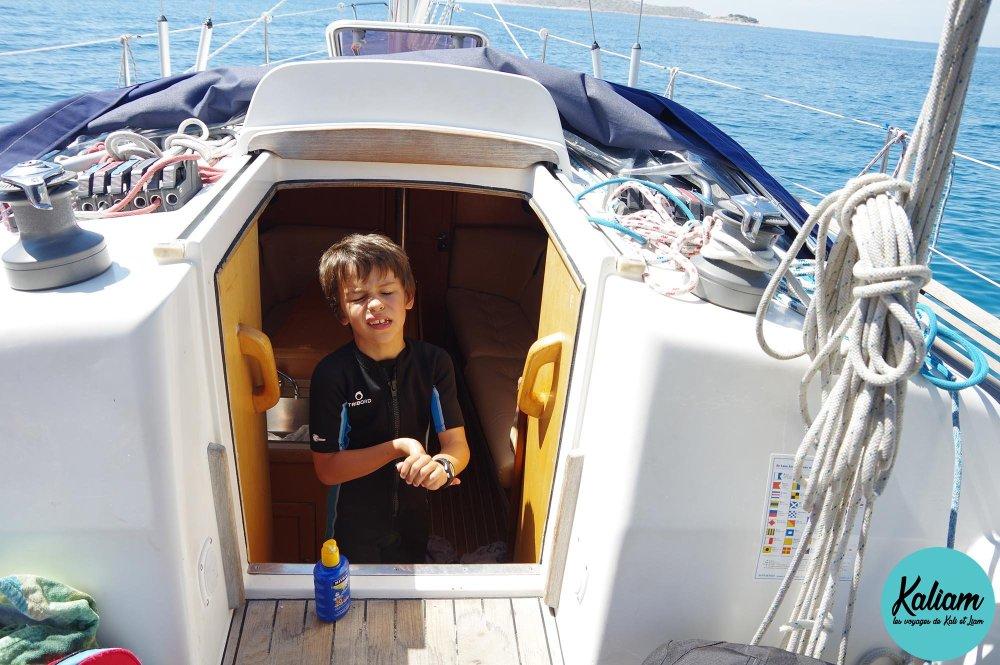 Liam prêt à plonger