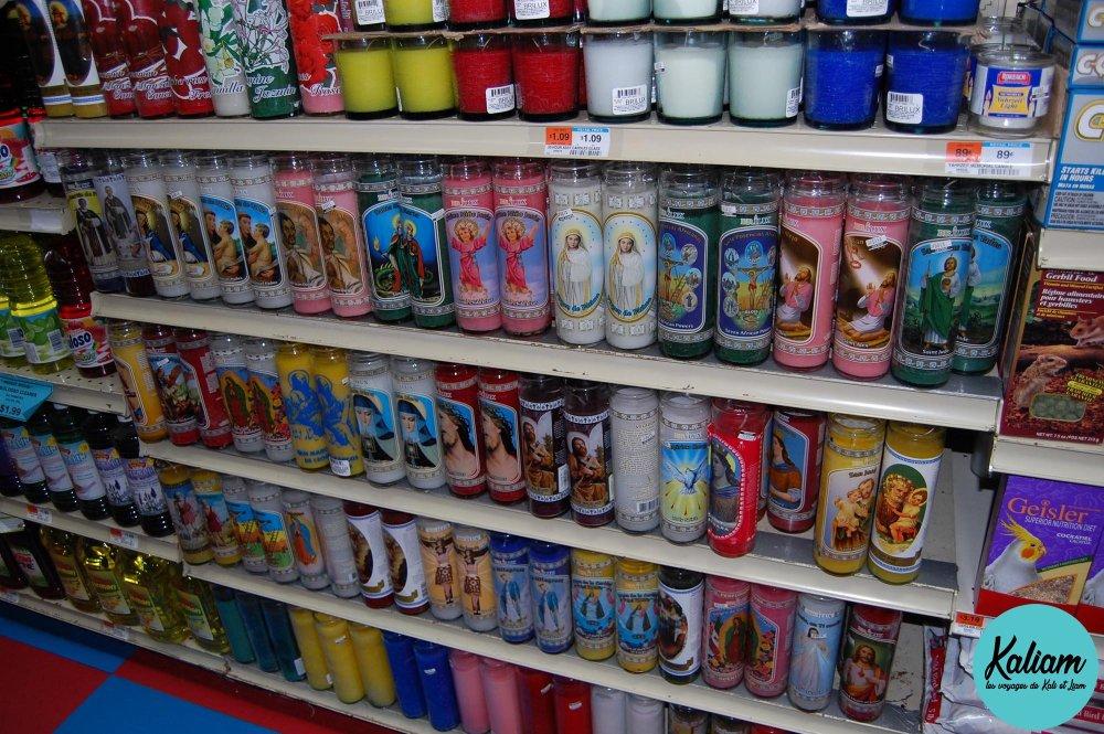 les bougies super kitsch