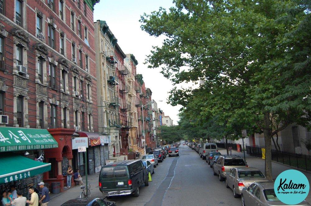 quartier à new york