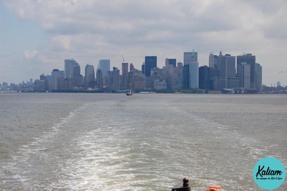 Manhattan de loin