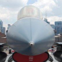 Pointe d'un F16