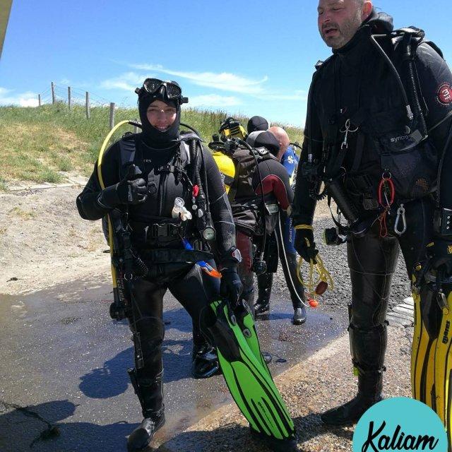 Premire plonge en mare Zeeland zeeland diving hollande joy kaliamhellip