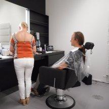 Mathieu au maquillage