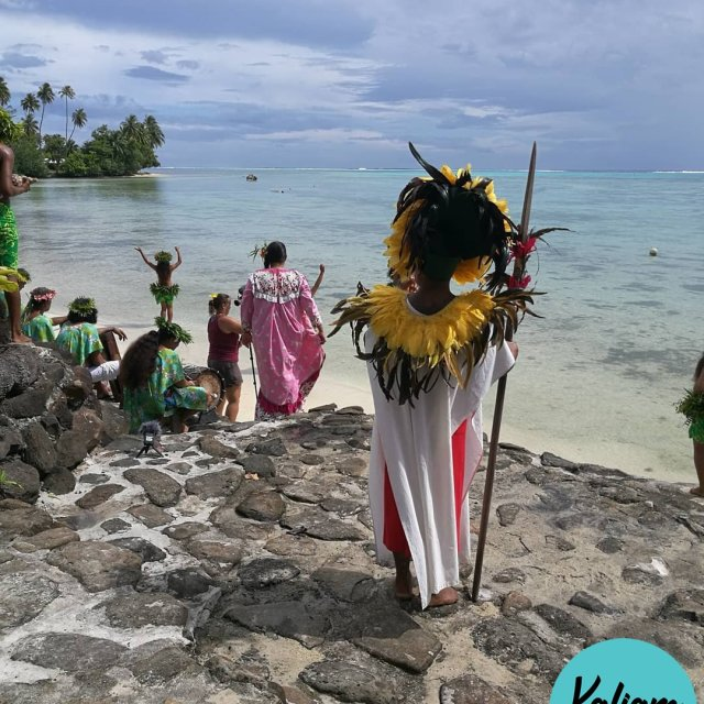 A traditional tahitian wedding Un mariage traditionnel tahitien