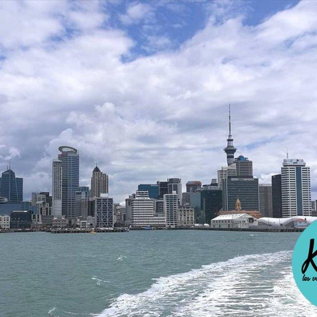 Auckland skyline so nice Le profil dAuckland superbe