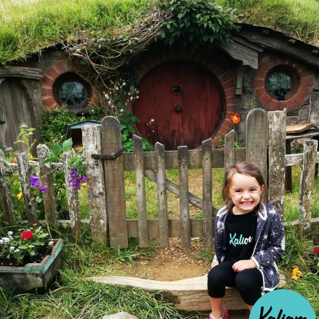 Here we are Hobbiton NZ welcome to the shire Noushellip