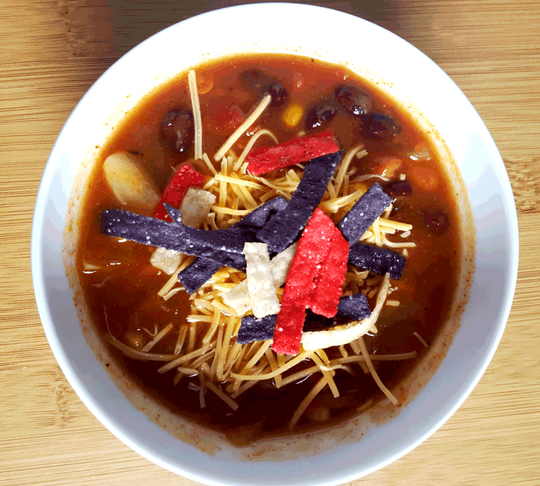 Easy and healthy Enchilada Soup