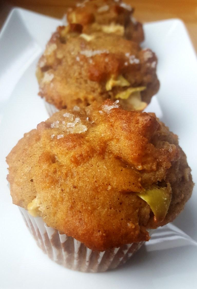 Apple Walnut Spice Muffin
