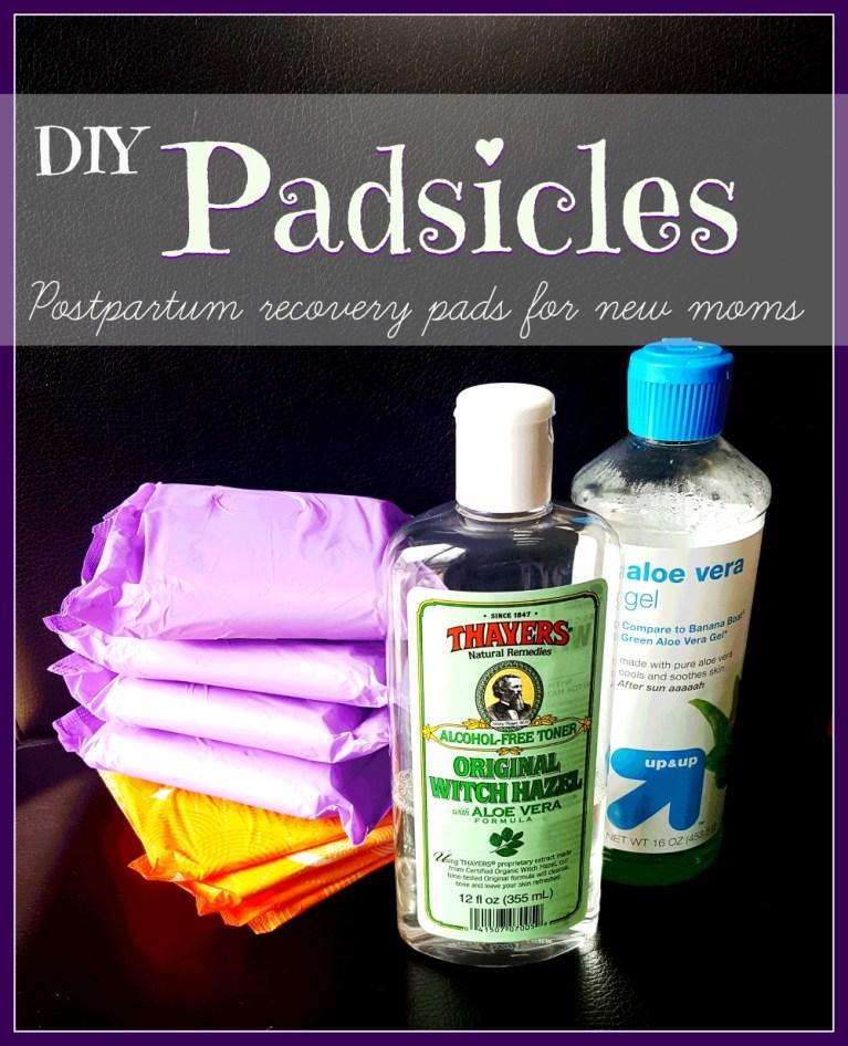 DIY padsicles