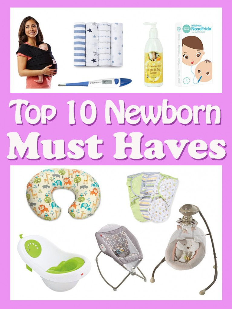 a list of baby things