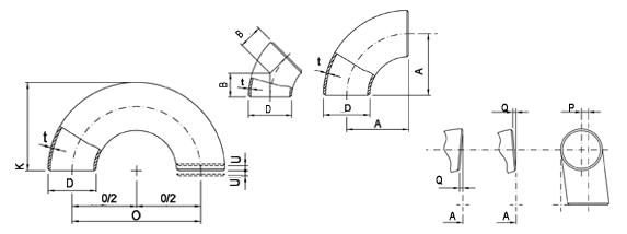 ANSI/ASME B16.9 90° Short Radius Elbow Manufacturer