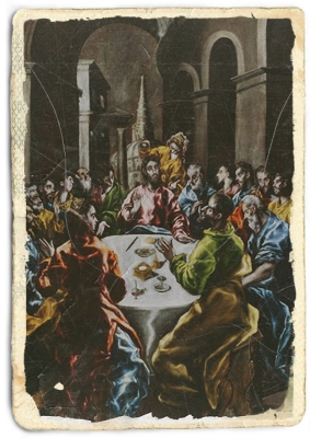 Feast in the House of Simon, 1610, El Greco