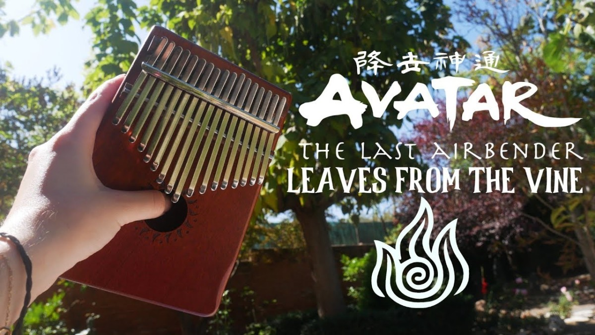 Leaves From The Vine Avatar The Last Airbender Kalimba Tabs Letter Number Notes Tutorial Kalimbatabs Net