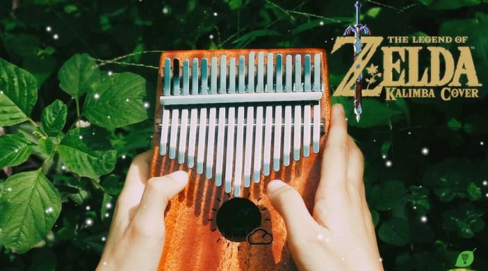 Legend of Zelda OST Lost Woods - Easy Kalimba Number Notation Tabs