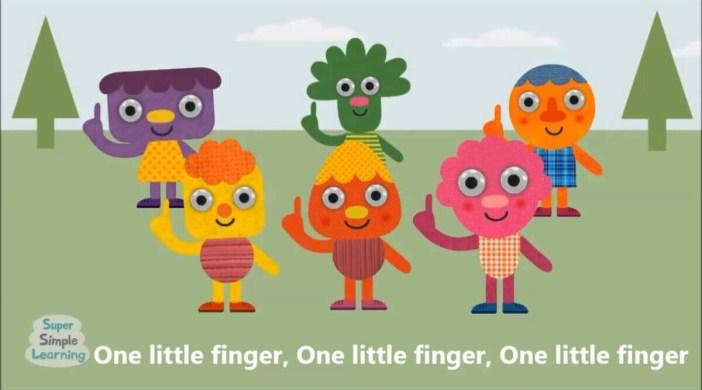 1 Litte Finger (Children's Music)