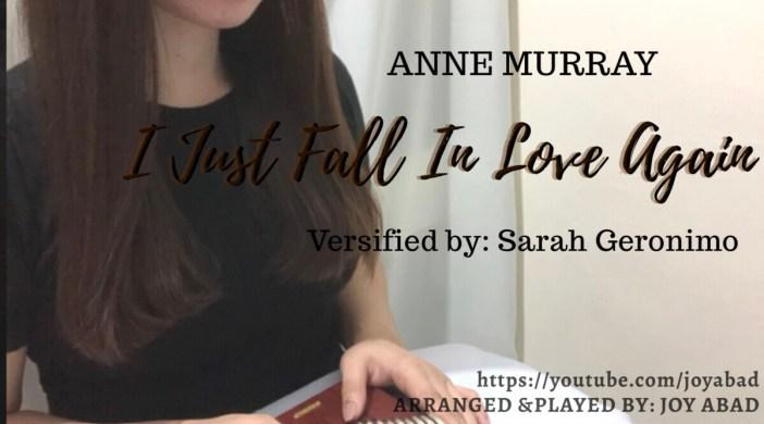 I JUST FALL INLOVE AGAIN - Anne Murray