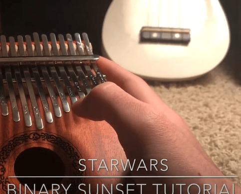Star Wars Binary Sunset/The Force Theme