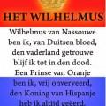 Wilhelmus, the Dutch national Anthem, by unknown