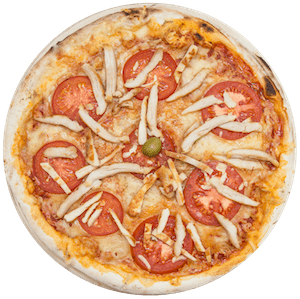 Pizza s pilećim fileom