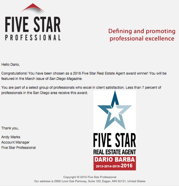 five-star-agent-2016