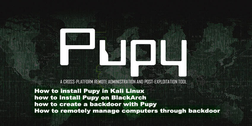 How to use pupy rat