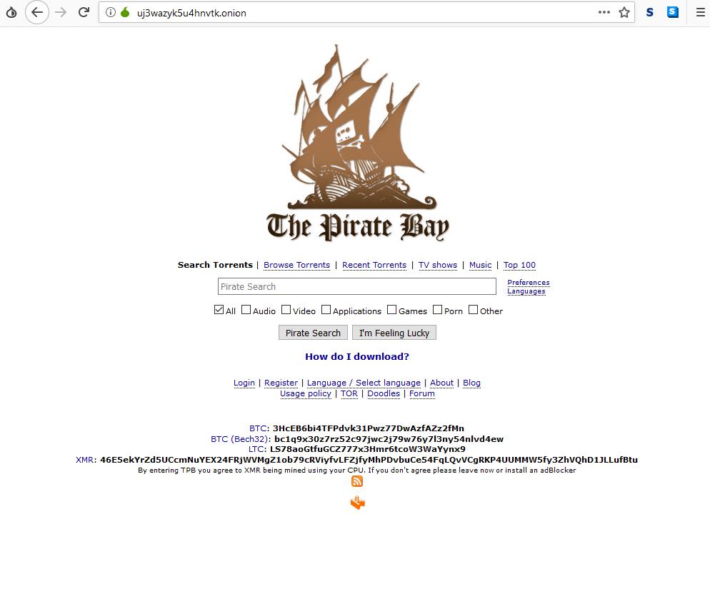 darkweb torrent