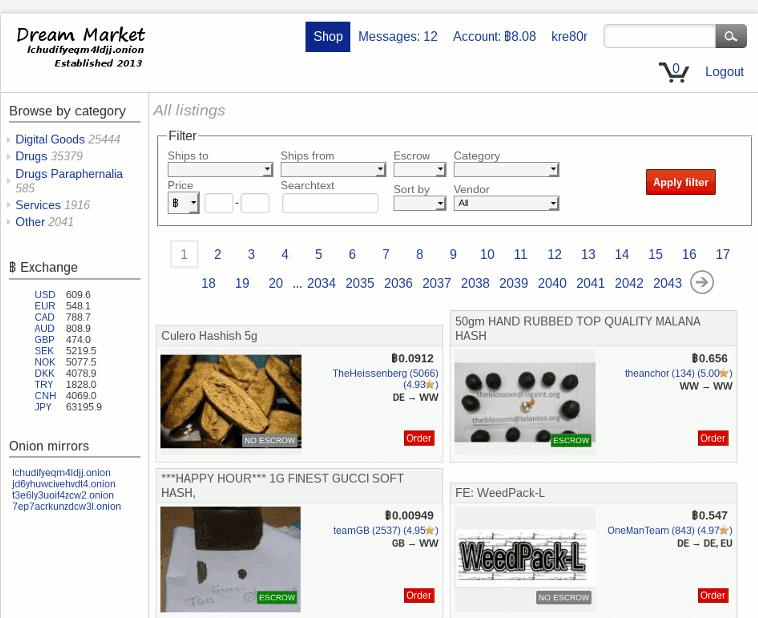 darknet marketplace
