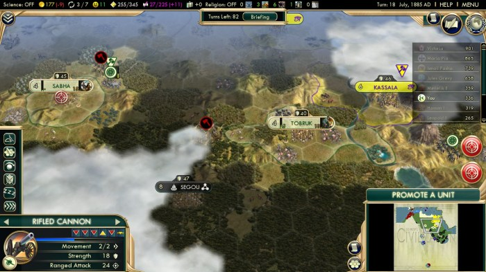 Civilization 5 Scramble for Africa Ottoman Deity Inland Cities