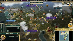 Civilization 5 Scramble for Africa Germany Strategy block Belgium turn 21