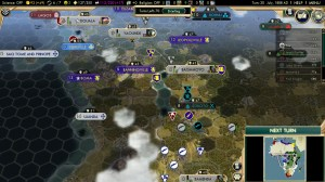 Civilization 5 Scramble for Africa Germany Strategy Longest railroad turn 30
