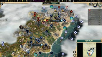 Civilization 5 Scramble for Africa Boers Deity Ethiopian City captured