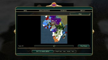 Civilization 5 Scramble for Africa Praise the Victories Ethiopias maximum expansion