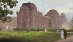Civilization 5 Archaeology Achievements - Louvre
