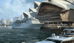 Civilization 5 Archaeology Achievements - Sydney Opera House