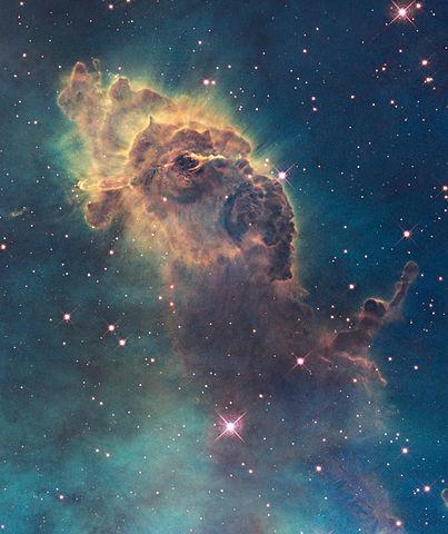 Portion of the Carina Nebula
