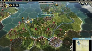 Civilization 5 Into the Renaissance Celts Deity Second wave of the English attack