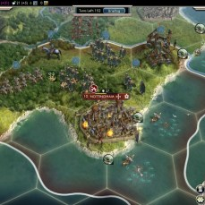 Civilization 5 Into the Renaissance Celts Deity Ranged units in place