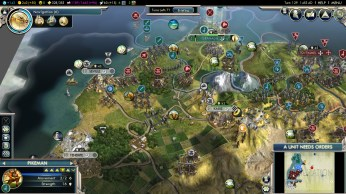 Civilization 5 Into the Renaissance Celts Deity Attack Seville