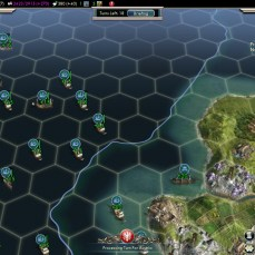 Civilization 5 Into the Renaissance Celts Deity Heal Fleet